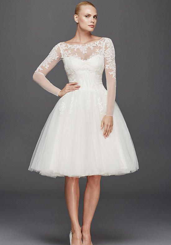 Truly Zac Posen at David's Bridal Truly Zac Posen Style ZP341642 Wedding Dress photo