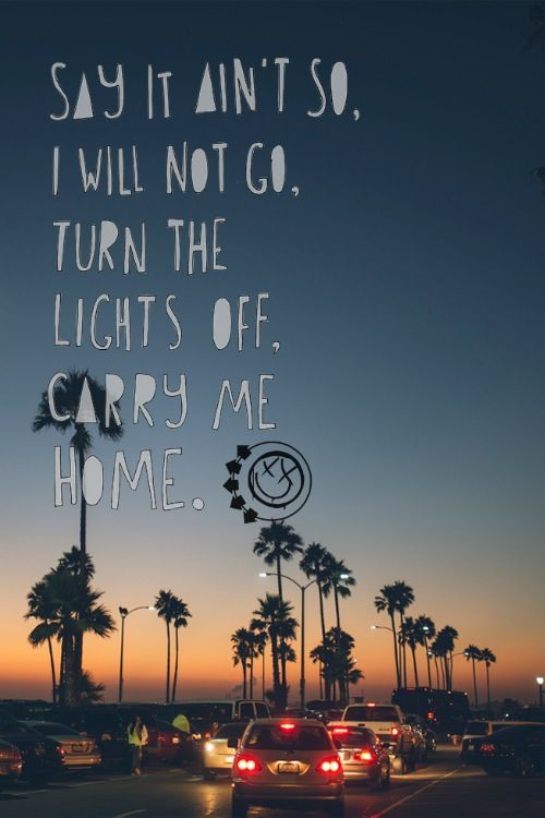 All The Small Things -Blink 182  song lyrics