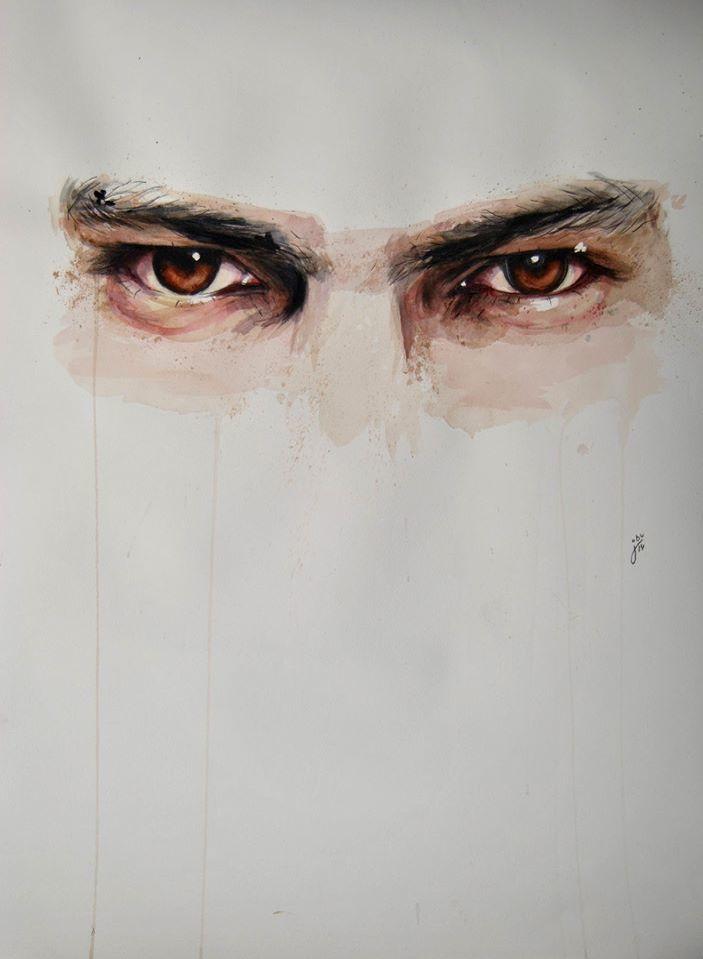 Expressive Watercolor Eye Paintings By Jone Bengoa http://designwrld.com/watercolor-eye-paintings-jone-bengoa/