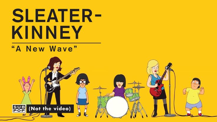 Sleater-Kinney - A New Wave (Official Music Video) #music #musicvideo #indie #indiemusic #animation