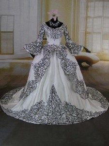 17 best images about victorian era clothes on pinterest for Victorian era wedding dresses