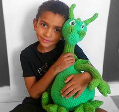 Dragon Stuffed Crochet Plushie