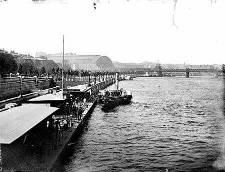 Victoria Embankment taken from Westminster Bridge 1870
