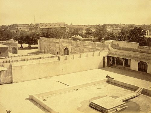 General view of Lahore looking E.  (John Sache)