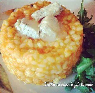 """Il Risotto Zucca e Gorgonzola di """"Fatto in casa è più buono""""!"""