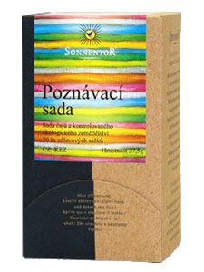Čaj Poznávacia sada BIO 28g (darčekové balenie)   www.slnecnica.sk