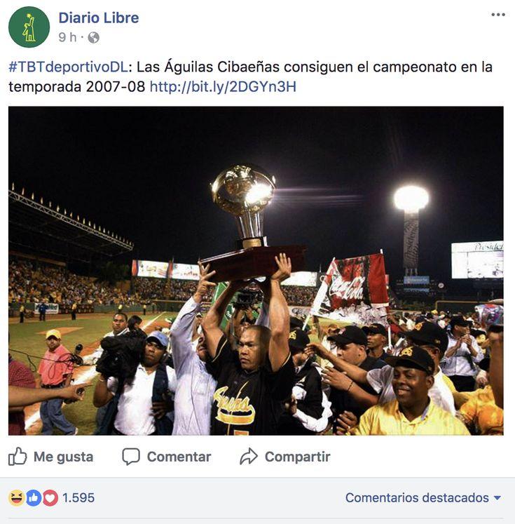 #TBT- Las Águilas Cibaeñas Consiguen El Campeonato En La Temporada 2007-08