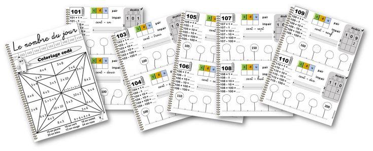 Le rituel du nombre du jour est l'une des activités obligatoires de la classe. Dans un premier temps, nous vérifions le travail des responsables : voir l'affichage ICI , nous représentons le nombre de façon concrète ainsi que son double et sa moitié ( pour les nombres pairs). Pendant la journée, les élèves travaillent …