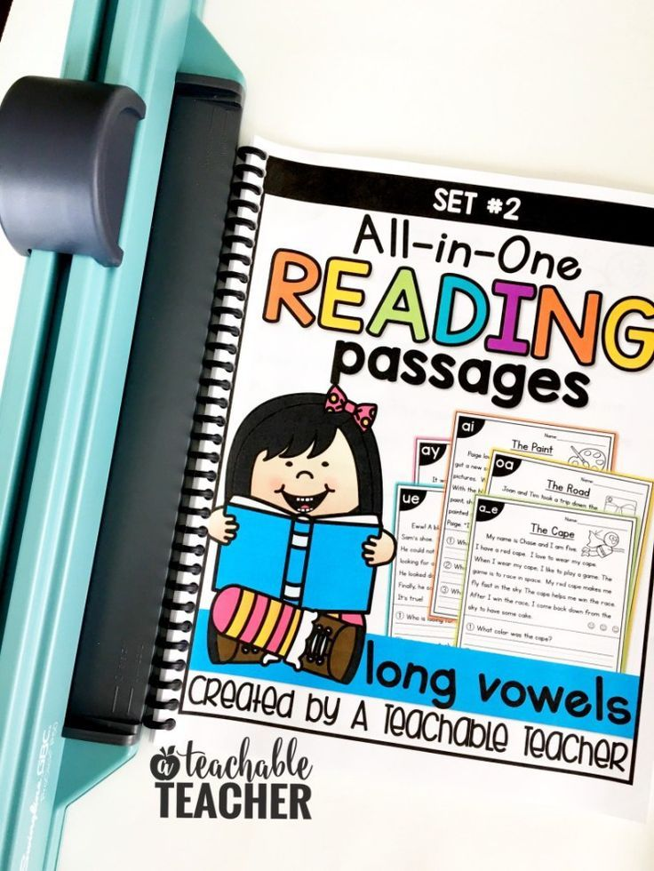FREE Phonics Reading Passages - A Teachable Teacher