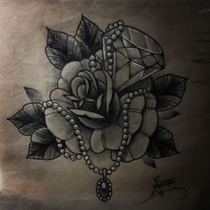 best 25 diamond tattoos ideas on pinterest black diamond tattoos diamond heart tattoos and. Black Bedroom Furniture Sets. Home Design Ideas