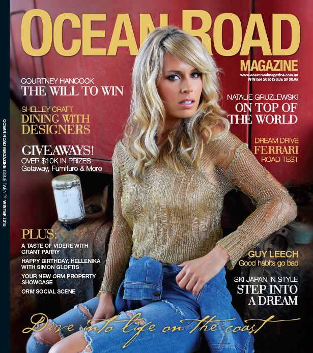 Cover - Winter Edition 2015 - Ocean Road Magazine