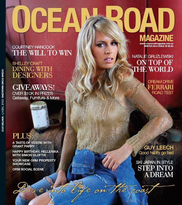 Cover - Winter Edition 2015 - Ocean Road Magazine