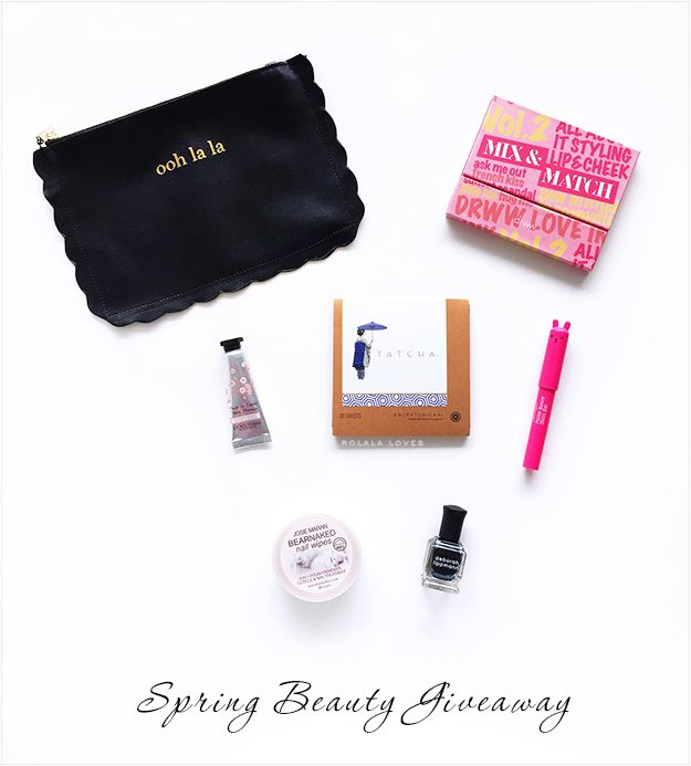 Spring Beauty Giveaway // rolala loves