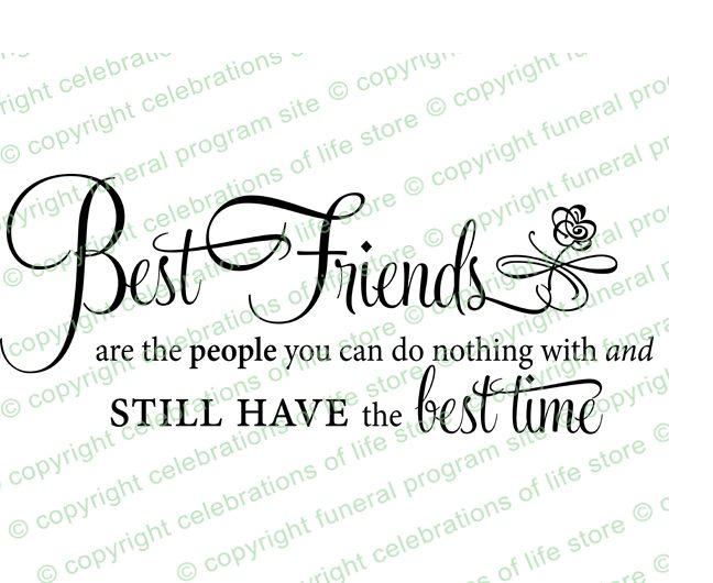 Inspirational Quotes About Life: Best Friends PreDesigned Script Elegant Title