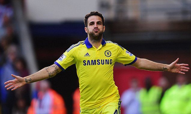 Crystal Palace 1-2 Chelsea - PLAYER RATINGS: Cesc pulls the strings