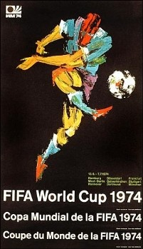 Germany 1974 World Cup Poster