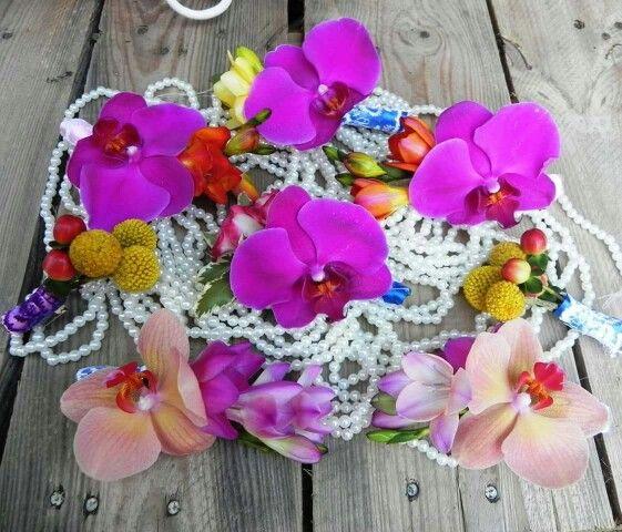 Corsaje orhidee