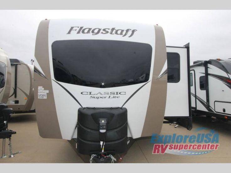 2018 Forest River  Flagstaff Classic Super Lite 831CLBSS, Travel Trailers RV For Sale in Mesquite, Texas   Explore USA RV Supercenter - Dallas 788722-M2433   RVT.com - 92076