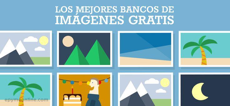 Los mejores bancos de imágenes gratis, libres de derechos | Leer más en http://epymeonline.com/mejores-bancos-de-imagenes-gratis/