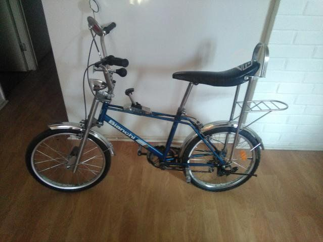 Hermosa bicicleta antigua