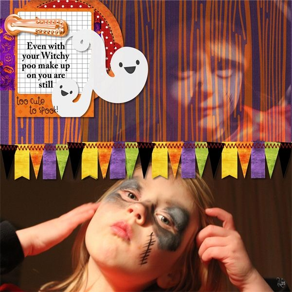 Trick or Treat Candy and Sweets October mix by Scrappy Bee Designers http://www.scrappybee.com/beehive/index.php?main_page=product_info&cPath=7&products_id=2541  Anatomy of a page template series 1 by Little Feet Digital Designs available at Panstoria https://www.panstoria.com/store/detail/K1007_00042