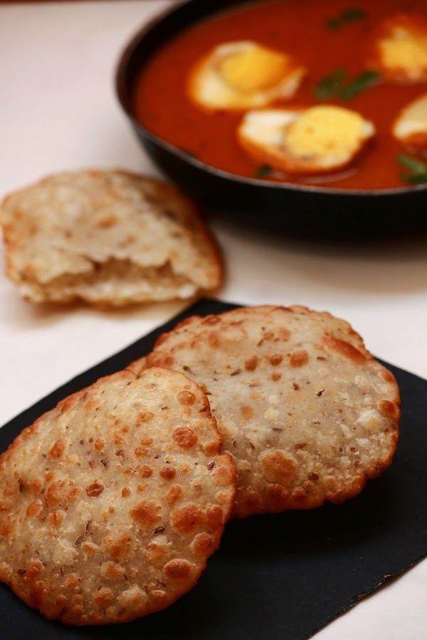 Ney Pathiri / Neypathal / Poricha Pathiri / Fried Rice Roti / Pathiri Recipe - Vegetarian Indian Recipes