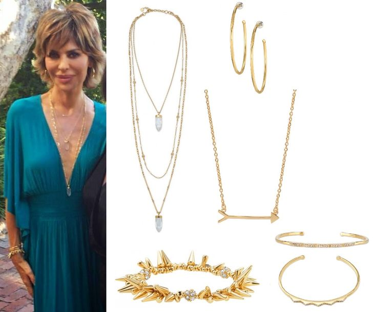 Lisa Rinna's Jewelry Party Look from Real Housewives of Beverly Hills - Stella & Dot