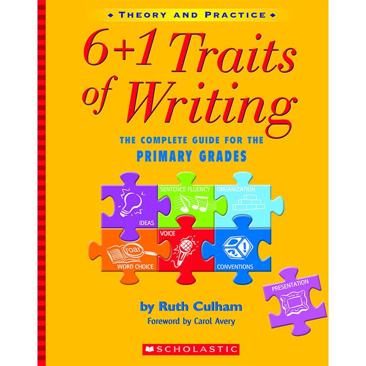 6 1 writing traits powerpoint Unit two: the 6+1 traits of writing 1 ideas the heart of the message, the content of the piece of writing , the main theme , together with.