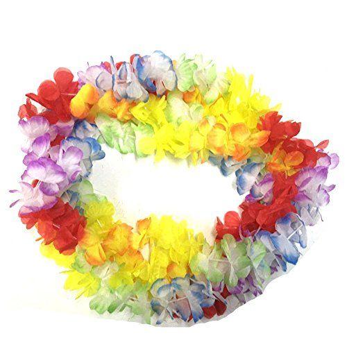 BOSHENG Hawaiian Colorful Flower Leis Necklaces for Tropi... http://www.amazon.com/dp/B01FTUZCZS/ref=cm_sw_r_pi_dp_Yfrtxb1S971FX