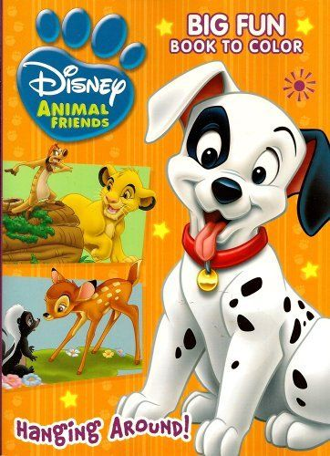 Disney Animal Coloring Book : 13 best coloring pages 22 101 dalmatians oliver aristocats