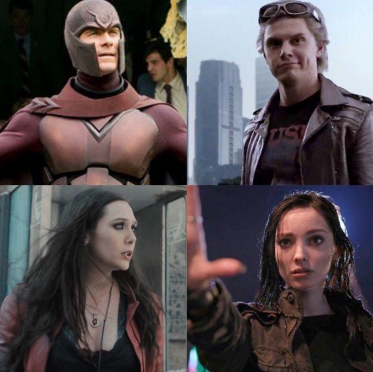 -family (Magneto/ Quicksilver/ Scarlet witch❤️/ Polaris)