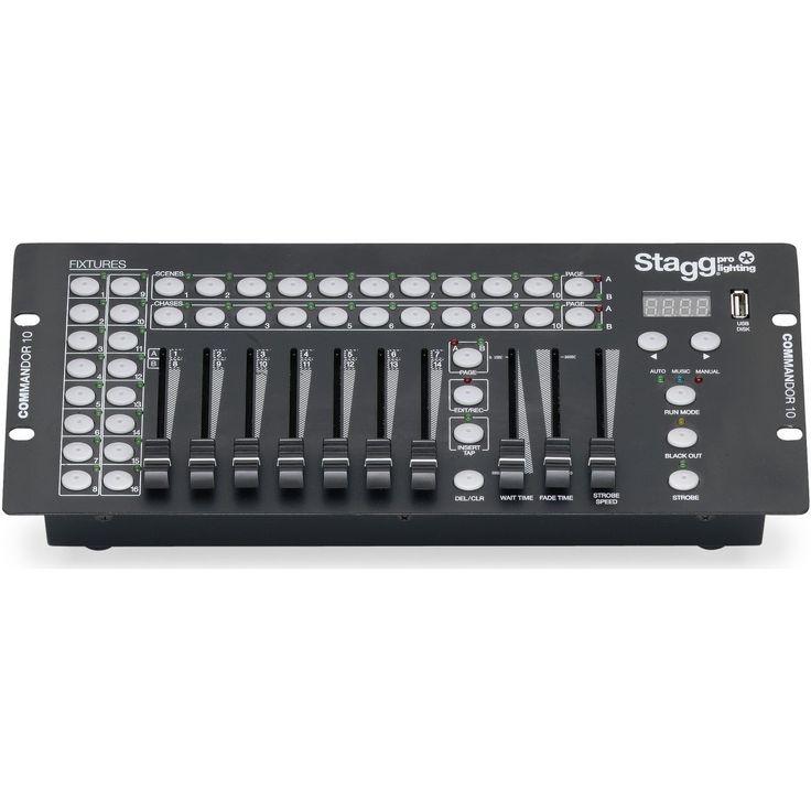 Stagg Commandor 10-1 DMX Light Controller