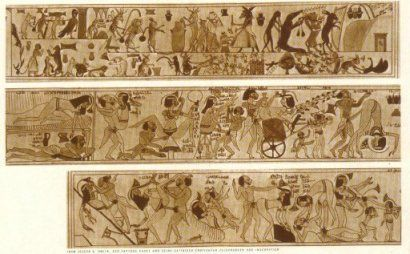 Erotic papyrus of turin