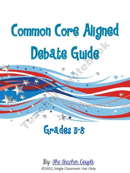 Debate guide for kids