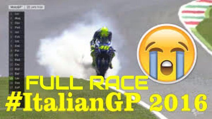 [FULL RACE] MotoGP Mugello Italian 2016 #Mugello #ItalianGP