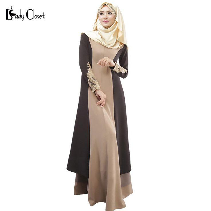 아바야 터키어 여성 의류 이슬람 드레스 이슬람 아바야 jilbab musulmane vestidos longos 히잡 의류 두바이 카프 탄 롱고 giyim