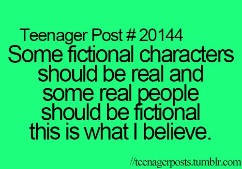 Like (insert anime/fictional crush) and Beiber should be fictional.(Sorry, I just don't like him)