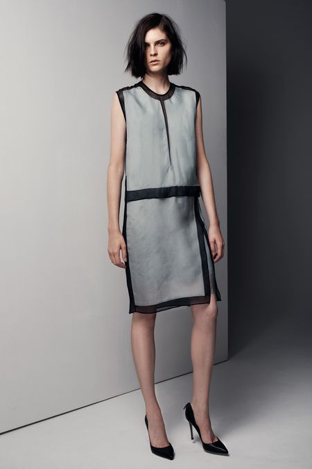 """Helmut Lang Pre-Fall 2013 Clean and sporty. A real """"palette cleanser"""", as they describe it themselves."""