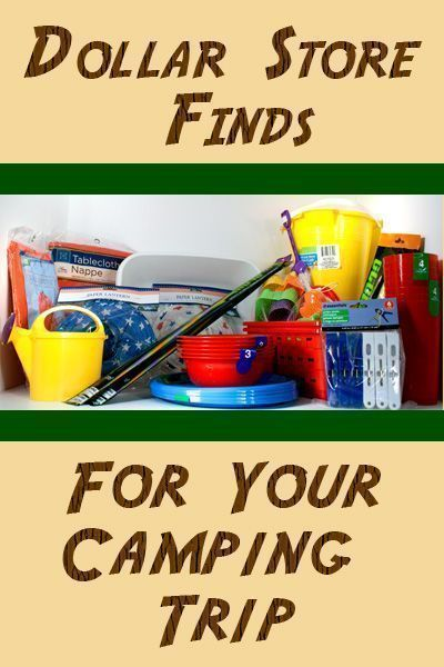 Dollar Store Finds for Camping - Mommiedaze