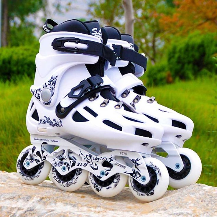 104.00$  Watch now - http://ali7a1.shopchina.info/1/go.php?t=32704526174 - SLM C6 Inline Skates Slalom Adult's Roller Skating Shoes 88A 4 Wheels For Sliding Street Free Skating Patines Adulto SEBA Patins 104.00$ #aliexpressideas