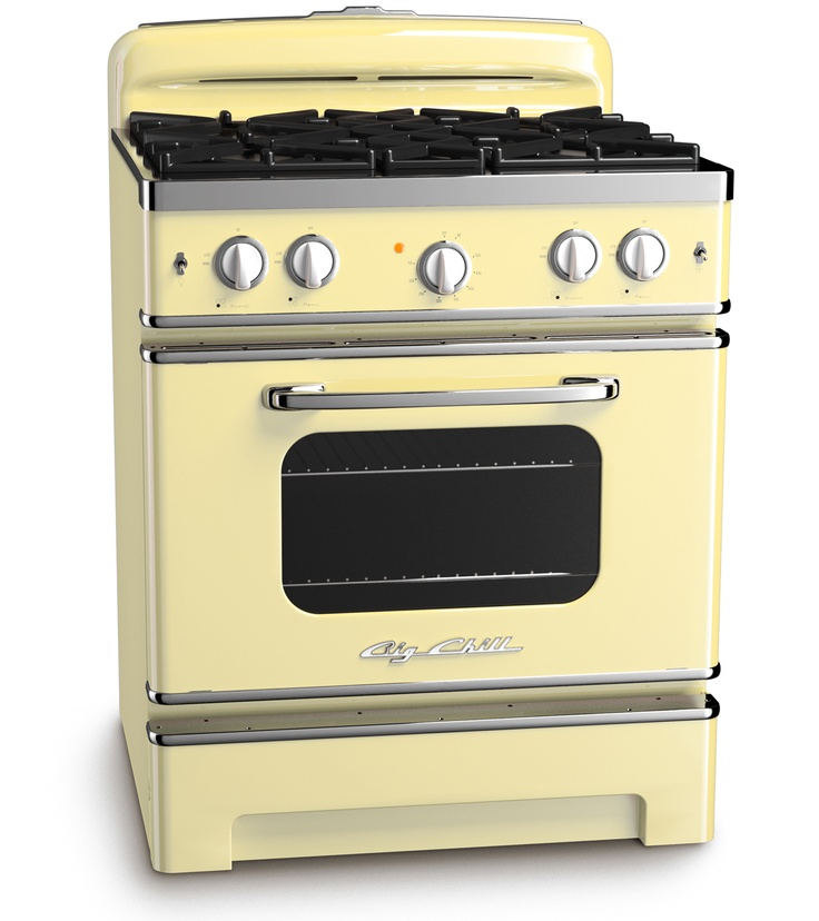 Buttercup Yellow Retro Stove by Big Chill