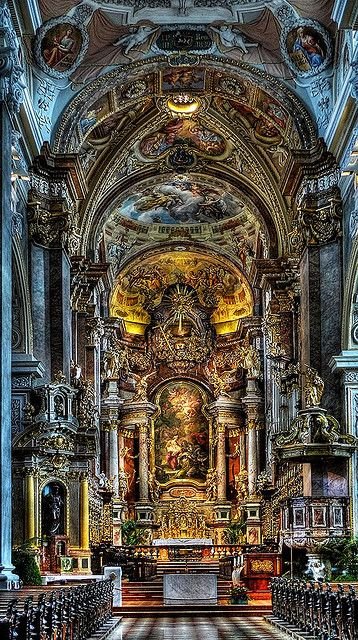 a twelfth-century Augustinian monastery of the Roman Catholic Church located in the town of Klosterneuburg in Vienna, Lower Austria.