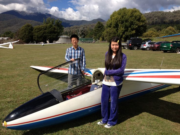 You can go on an introductory gliding flight and then take flying lessons if you wish.