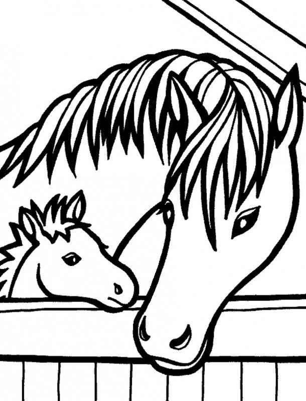 Horse Coloring Pages To Color Online
