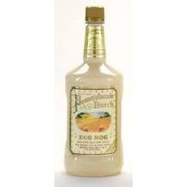 Real Pennsylvaia Dutch Egg Nog! Made with real dairy cream, rum, brandy and blended whiskey! In the larger 1.75L size!