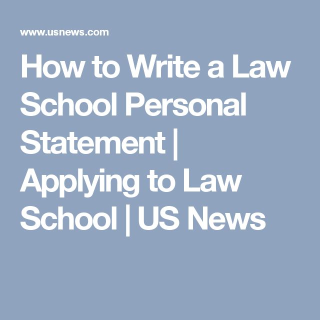64 best law school resources images on pinterest school stuff law how to write a law school personal statement fandeluxe Image collections