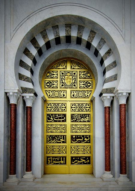 Golden Door: Munastir, Al Munastir, Tunisia / photo by Louis PERPERE, via Flickr