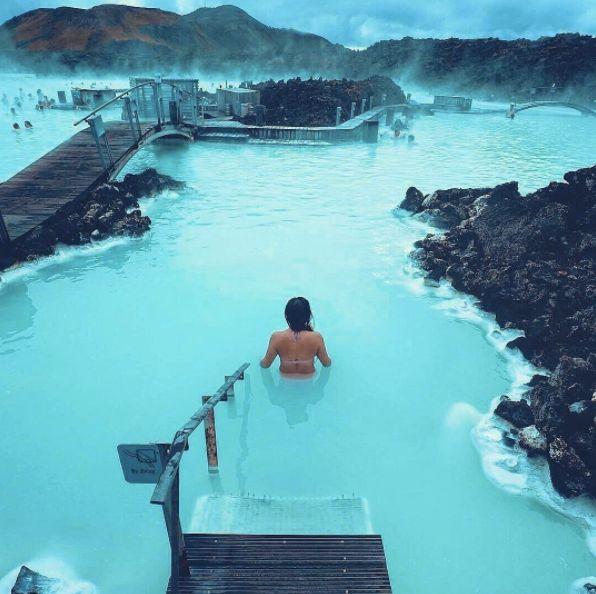 Lagoa Azul ( Blue Lagoon) - Islândia. http://revista.icasei.com.br/