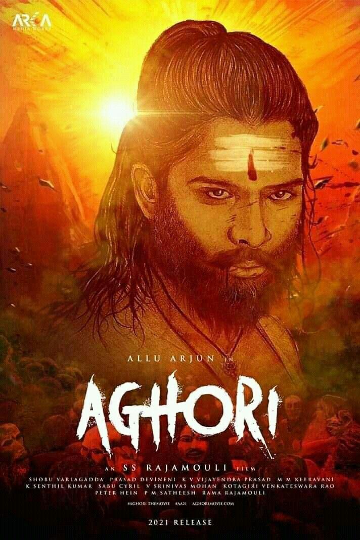Alluarjun Fanmade Aa19 Aa21 Aa20 Aghori Movie Posters Allu Arjun Images Movies