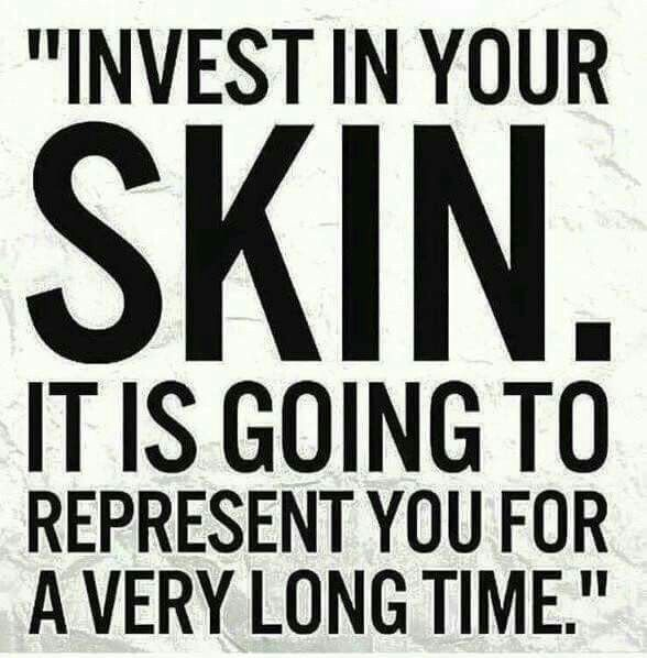You only get one face and you wear it everyday! Your skincare is worth it!